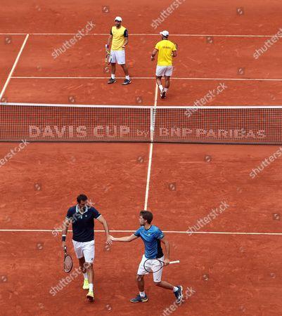 Editorial image of Colombia vs. Croatia in Davis Cup, Bogota - 16 Sep 2017