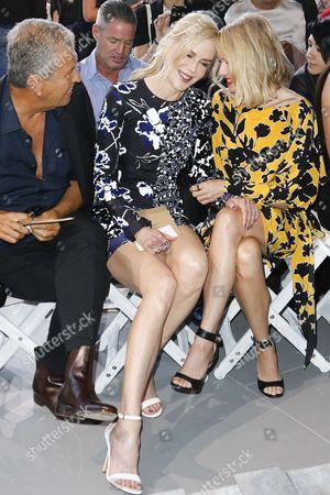 Mario Testino, Nicole Kidman and Naomi Watts in the front row