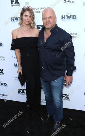 Stock Picture of Autumn Chiklis and Michael Chiklis