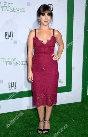 Editorial image of 'Battle of the Sexes' film premiere, Arrivals, Los Angeles, USA - 16 Sep 2017