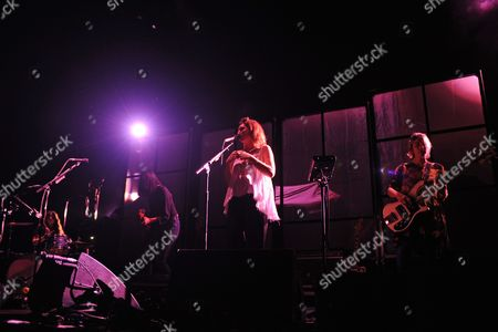 Editorial picture of Warpaint in concert at the American Airlines Arena, Miami, USA - 15 Sep 2017