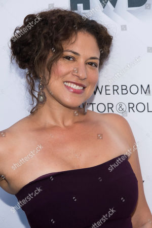 Monica Beletsky attends the FX Networks and Vanity Fair pre-Emmy party at CRAFT, in Los Angeles