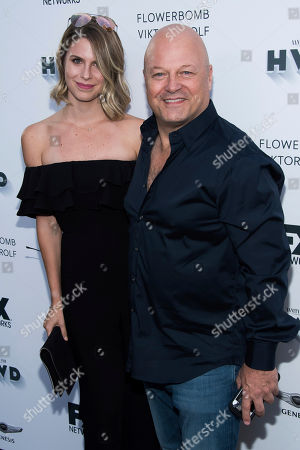 Michael Chiklis, Autumn Chiklis. Autumn Chiklis and Michael Chiklis attend the FX Networks and Vanity Fair pre-Emmy party at Craft, in Los Angeles