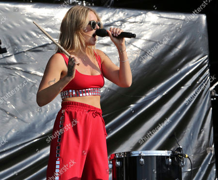 Tove Lo, Ebba Tove Elsa Nilsson. Tove Lo performs during Music Midtown 2017 at Piedmont Park, in Atlanta