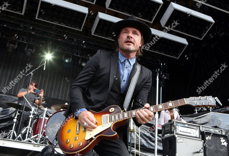 Nalle Colt with Vintage Trouble performs during Music Midtown 2017 at Piedmont Park, in Atlanta
