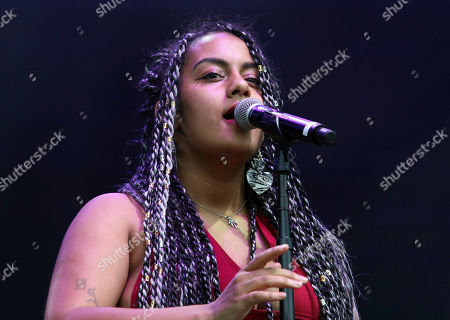 Bibi Bourelly performs during Music Midtown 2017 at Piedmont Park, in Atlanta