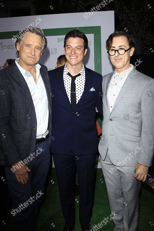 Actors (L-R) Bill Pullman, James Mackay, Alan Cumming arrive for the Los Angeles Premiere of 'Battle of the Sexes' at the Regency Village Theater in Westwood, Los Angeles, California, USA, 16 September 2017. The movie opens in the USA on 29 September 2017.