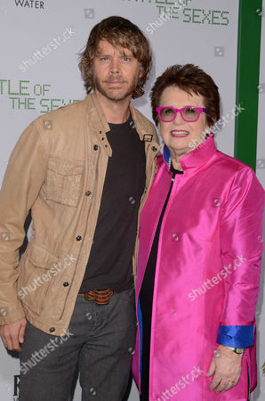Eric Christian Olsen and Billie Jean King
