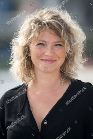 Stock Image of 'Meutres a Sarlat' photocall - Cecile Bois
