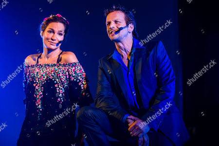 Stock Picture of Alexandra Kamp and Roland Spiess bei den SWR3 Live Lyrix