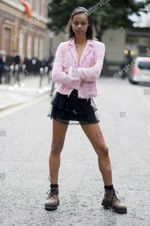 Model Aaliyah Hydes