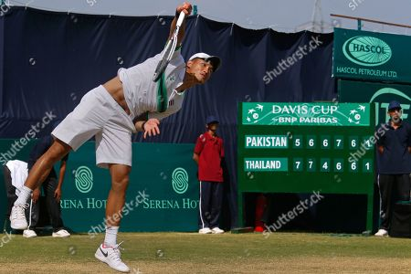 Editorial picture of Thailand Davis Cup, Islamabad, Pakistan - 17 Sep 2017