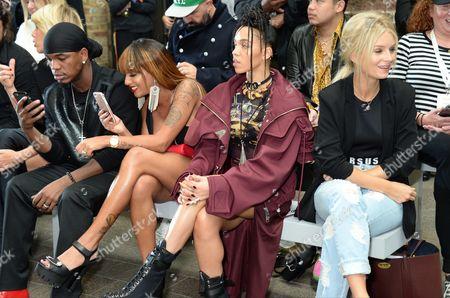 Ne-Yo, Crystal Renay, FKA Twigs and Lottie Moss