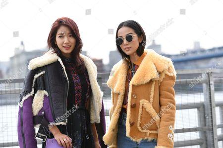 Park Shin-hye and Yoyo Cao