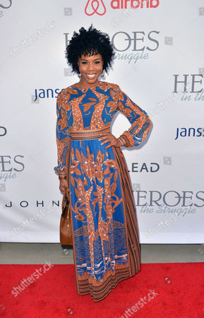 Editorial picture of 16th Annual Heroes in the Struggle Awards, Los Angeles, USA - 16 Sep 2017