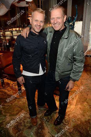 Adrian Fillary and Paul Simonon