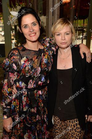 Juliette Larthe and Flora Starkey