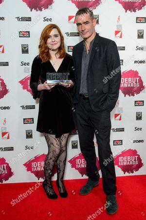 Katherine Soper (Best Writer 'Wish List') presented by Rufus Norris