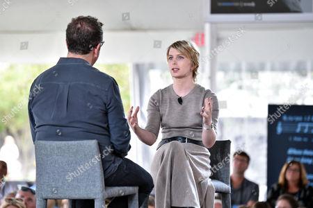 Eugene Jarecki. and Chelsea Manning