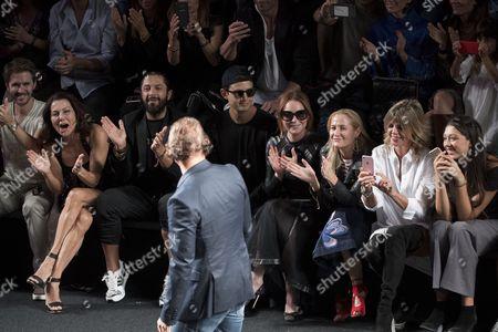 American actress Lindsay Lohan and Custo Dalmau