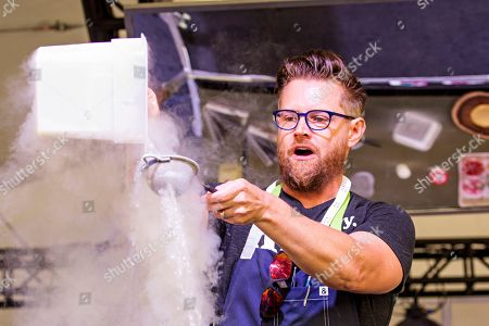 Chef Richard Blais seen at KAABOO 2017 at the Del Mar Racetrack and Fairgrounds, in San Diego, Calif
