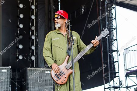 Stock Picture of John Norwood Fisher of Fishbone seen at KAABOO 2017 at the Del Mar Racetrack and Fairgrounds, in San Diego, Calif
