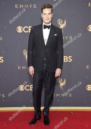 Cameron Silver arrives at the 69th Primetime Emmy Awards, at the Microsoft Theater in Los Angeles