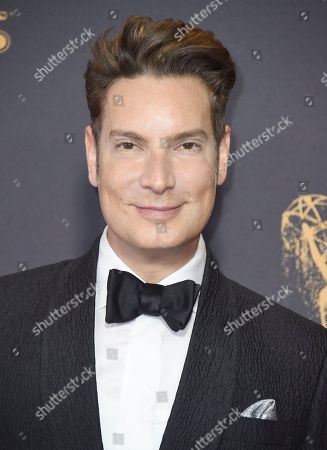 Stock Image of Cameron Silver arrives at the 69th Primetime Emmy Awards, at the Microsoft Theater in Los Angeles