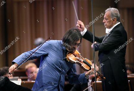 Leonidas Kavakos and Zubin Mehta