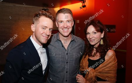 Max Jenkins, Brian Hutchison and Marilu Henner
