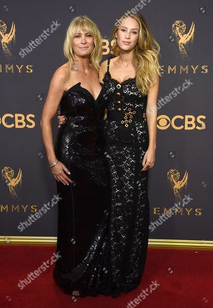 Robin Wright, Dylan Frances Penn. Robin Wright, left, and Dylan Frances Penn arrive at the 69th Primetime Emmy Awards, at the Microsoft Theater in Los Angeles