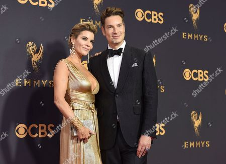 McKenzie Westmore, Cameron Silver. McKenzie Westmore, left, and Cameron Silver arrive at the 69th Primetime Emmy Awards, at the Microsoft Theater in Los Angeles