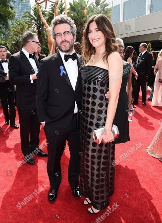 Ethan Sandler, Kathryn Hahn. Ethan Sandler, left, and Kathryn Hahn arrive at the 69th Primetime Emmy Awards, at the Microsoft Theater in Los Angeles