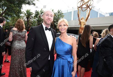 Matt Walsh, Morgan Walsh. Matt Walsh, left, and Morgan Walsh arrive at the 69th Primetime Emmy Awards, at the Microsoft Theater in Los Angeles