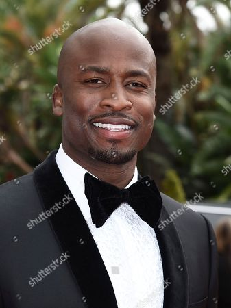 Akbar Gbajabiamila arrives at the 69th Primetime Emmy Awards, at the Microsoft Theater in Los Angeles