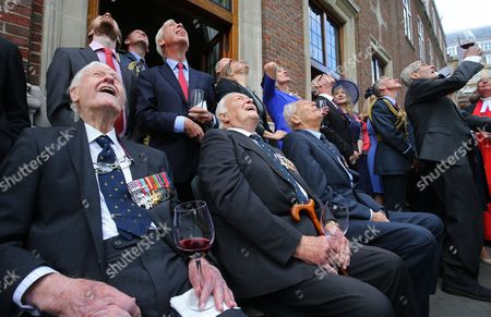 Editorial image of Battle of Britain memorial service, Westminster Abbey, London, UK - 17 Sep 2017
