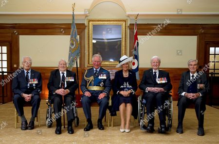 Editorial picture of Battle of Britain memorial service, Westminster Abbey, London, UK - 17 Sep 2017