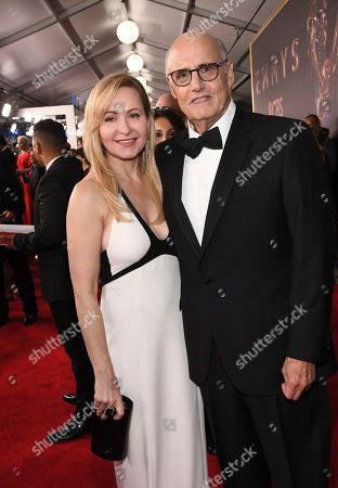Kasia Tambor, Jeffrey Tambor. Kasia Tambor, left, and Jeffrey Tambor arrive at the 69th Primetime Emmy Awards, at the Microsoft Theater in Los Angeles