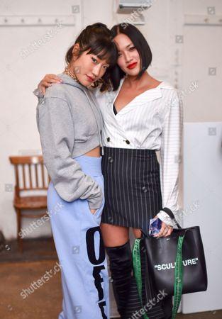 Peggy Gou and Tiffany Hsu
