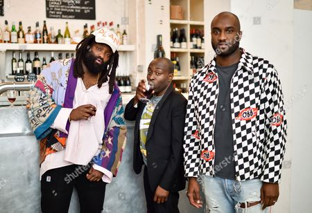 Tremaine Emory, Acyde Odunlami and Virgil Abloh