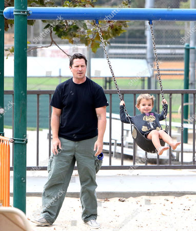 Editorial image of Christian Bale out and about, Los Angeles, USA - 17 Sep 2017
