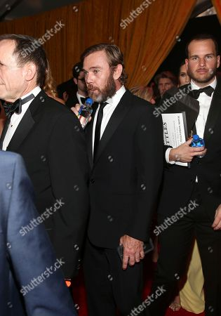 Stock Image of Ricky Schroder arrives at the 69th Primetime Emmy Awards, at the Microsoft Theater in Los Angeles