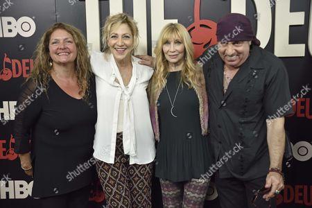 Aida Turturro, Edie Falco, Maureen Van Zandt and Steven Van Zandt