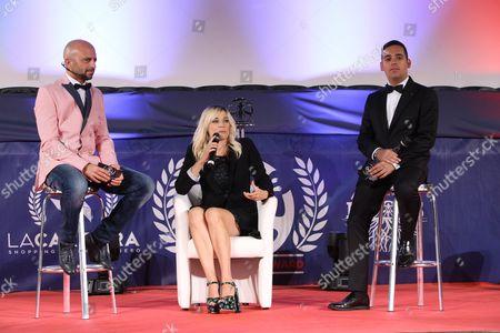 Luca Abete, Laura Chiatti, Carlo Fumo