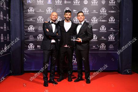 Luca Abete, Marco Bocci, Carlo Fumo
