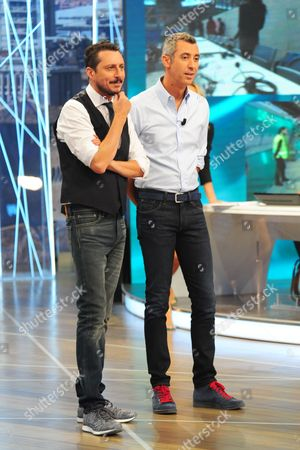 Luca Bizzarri and Paolo Kessisoglu