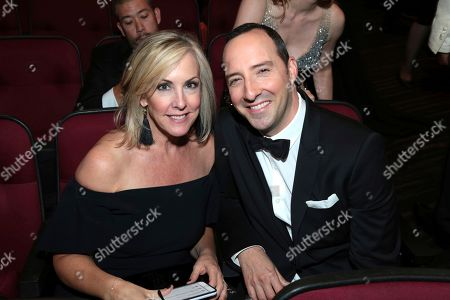 Martel Thompson, Tony Hale. Martel Thompson, left, and Tony Hale Pose in the audience at the 69th Primetime Emmy Awards, at the Microsoft Theater in Los Angeles