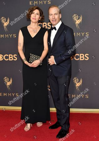 Naomi Odenkirk, Bob Odenkirk. Naomi Odenkirk, left, and Bob Odenkirk arrive at the 69th Primetime Emmy Awards, at the Microsoft Theater in Los Angeles
