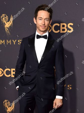 Simon Quarterman arrives at the 69th Primetime Emmy Awards, at the Microsoft Theater in Los Angeles