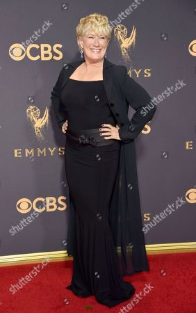 Jayne Atkinson arrives at the 69th Primetime Emmy Awards, at the Microsoft Theater in Los Angeles